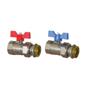 Emmeti Ball Valve with Butterfly Handle 1306708