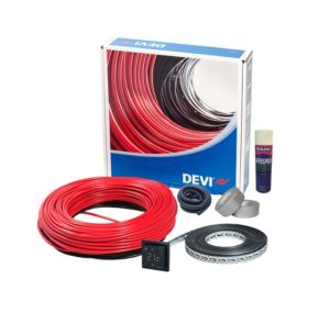 DEVIflex Loose Lay Cable Kit With Black Smart