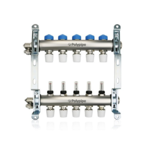 Polypipe Underfloor Heating Manifold 5 Port