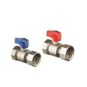 Reliance Manifold Ball Valves Red + Blue Pair BVAL450001