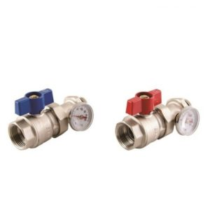 Reliance Manifold Ball Valve And Gauge Pair SKIT450013