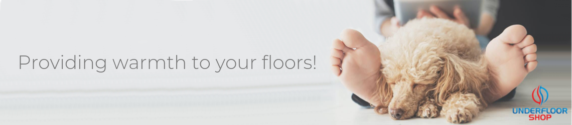 Providing warmth to your floors banner