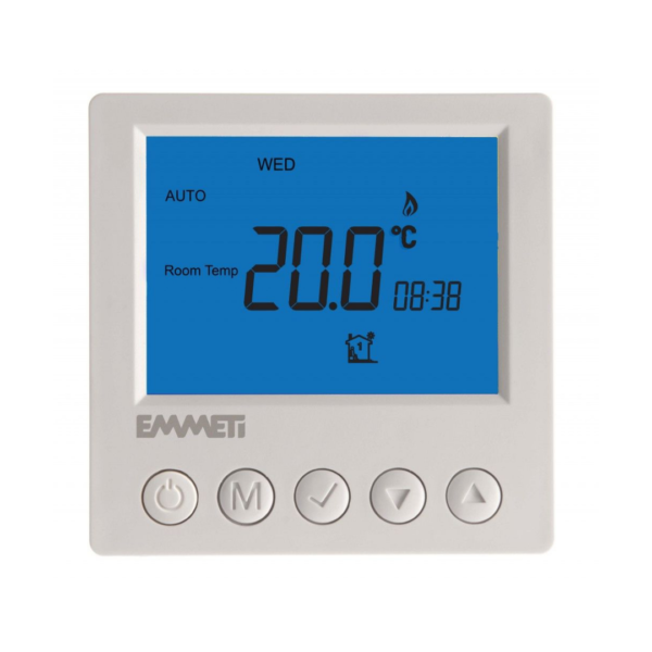 Emmeti CS-11 7 Day Programmable LCD Digital Thermostat