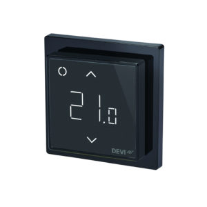 DEVIreg Smart Black Programmable Thermostat 140F1143